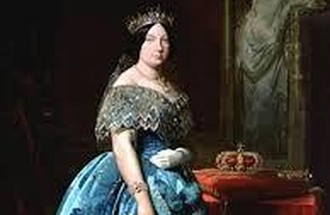 La Reina Isabel II pintada por Madrazo